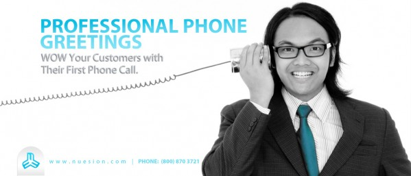 Nuesion Professional Phone Greetings